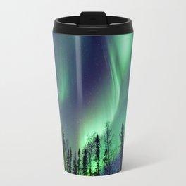 Northern Lights in Yellowknife Travel Mug
