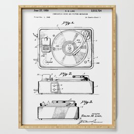 Turntable Patent Serving Tray