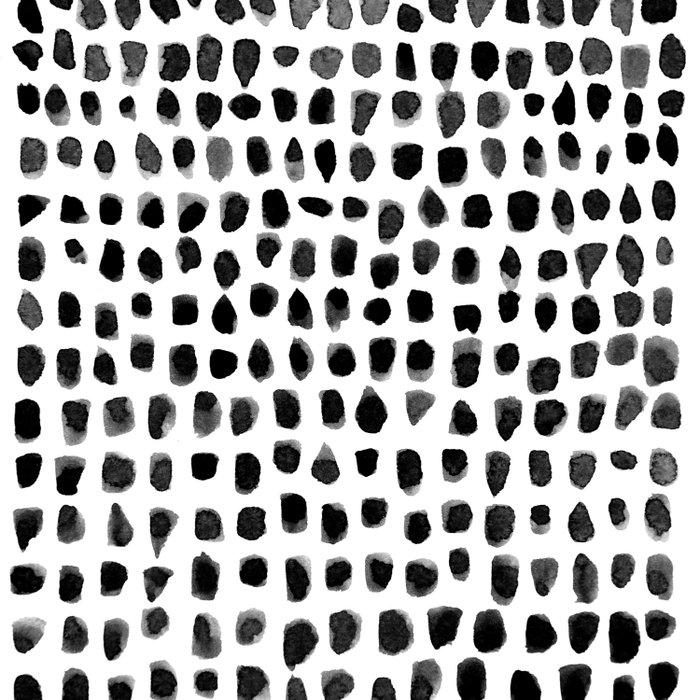 Watercolor Dots Duvet Cover