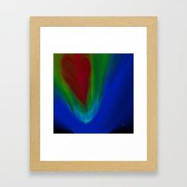 With All My Heart Framed Art Print