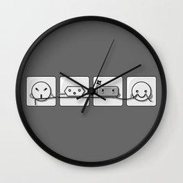 Power Struggle Wall Clock