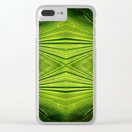 Palmetto Prism Clear iPhone Case