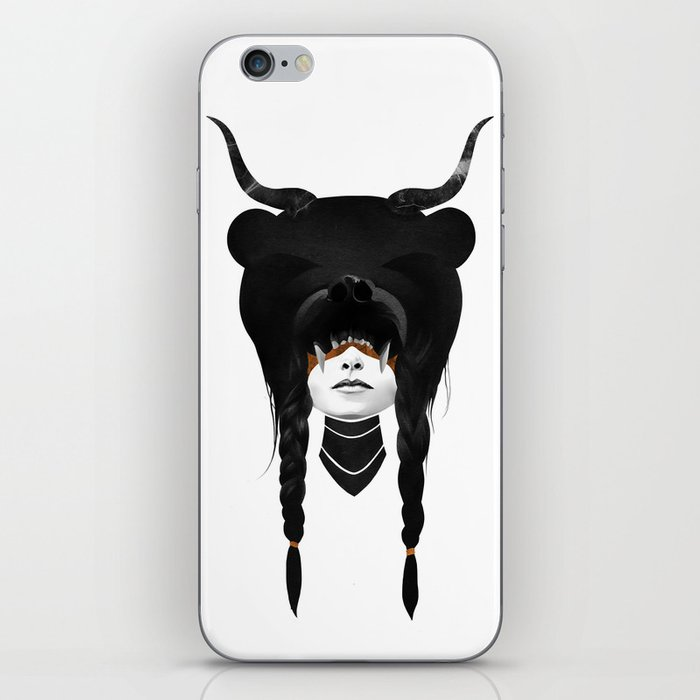 Bear Warrior iPhone Skin