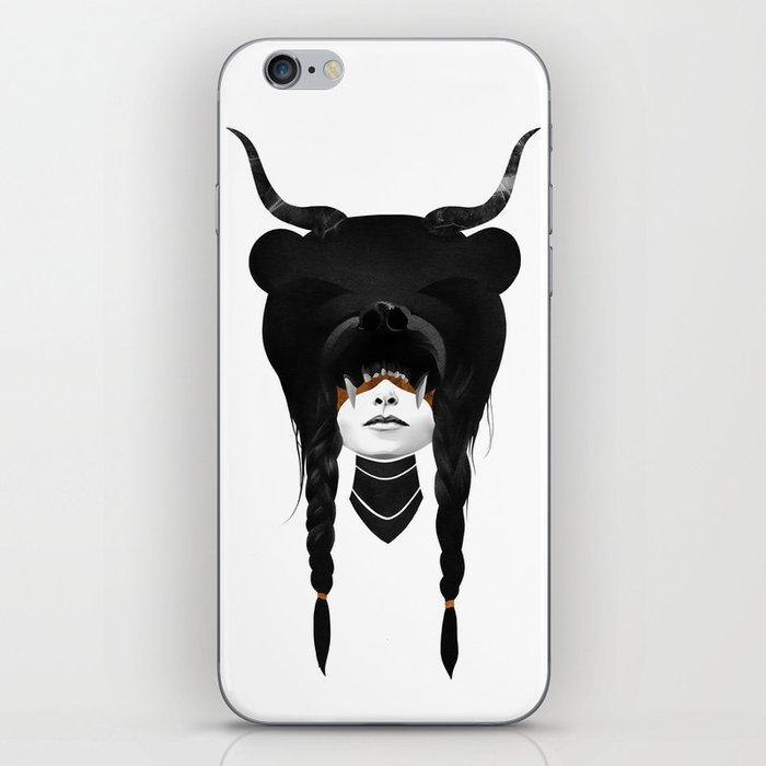 Bear Warrior iPhone Skin