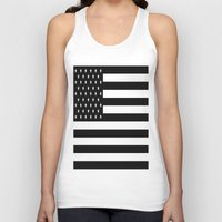 flag Tank Tops featuring Flag by Blindspots Arts