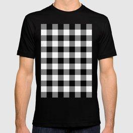 Gingham (Black/White) T-shirt