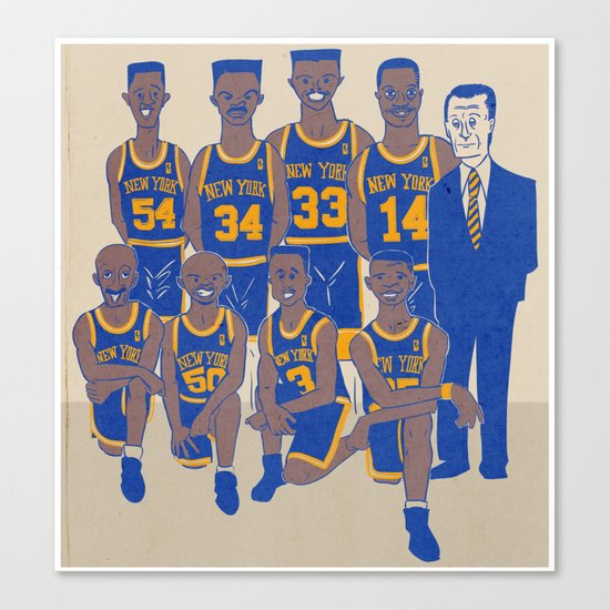 The '94 Knicks Canvas Print