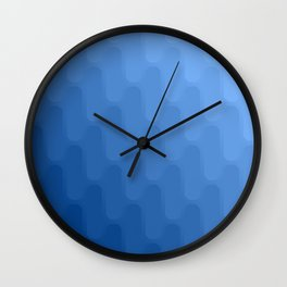 Wonderful gradient shades 3 Wall Clock