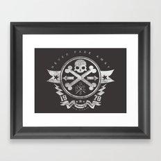Bad Bones Crew 2 Framed Art Print