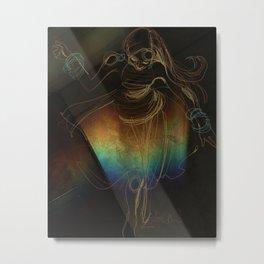 Dancing in the Dark Metal Print