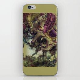 Flying Carousel iPhone Skin