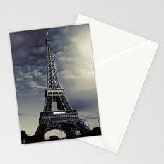 Dark Eiffel Stationery Cards