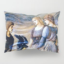 "Edward Burne-Jones ""Perseus and the Sea Nymphs (The Arming of Perseus)"" Pillow Sham"
