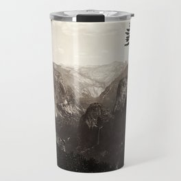 Vintage Yosemite Valley, California, ca. 1865 Travel Mug
