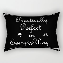 Mary Poppins Practically Perfect Rectangular Pillow