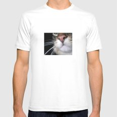 Kitty Nose Mens Fitted Tee White MEDIUM
