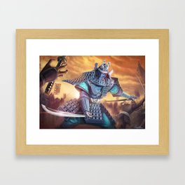 Virtuous Victory Framed Art Print