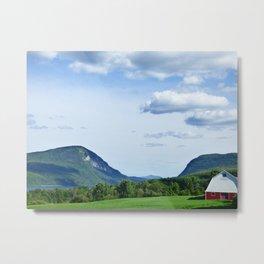 Vermont Farm Metal Print