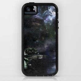 Snow Leopard Storms iPhone Case