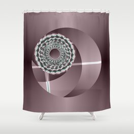 Funnel Builder 3b Shower Curtain