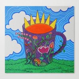 'Tomar el sol' Canvas Print