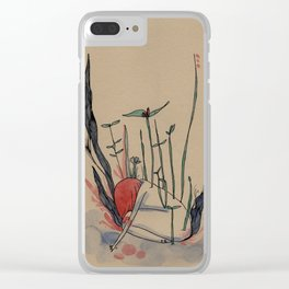 The nymphea - liliwater - girl Clear iPhone Case