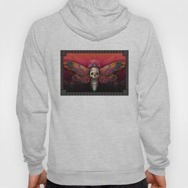 """Death colored moth"" Hoody"