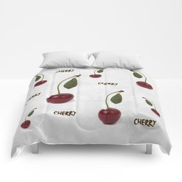 Red cherry berry: The Graduate Comforters