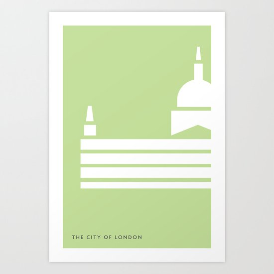 Iconic London: St Paul's Cathedral Art Print
