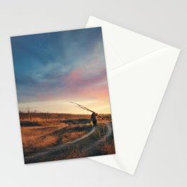 the perfect stranger Stationery Cards