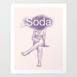 Soda Art Print