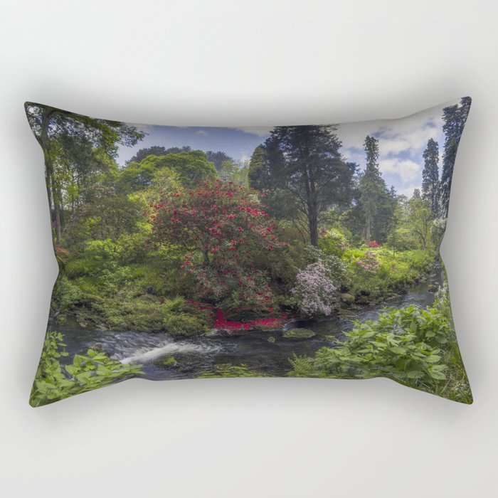 Peace In The Valley Rectangular Pillow