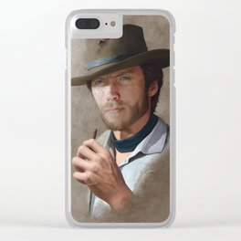Man with no name ( Clint Eastwood ) Clear iPhone Case
