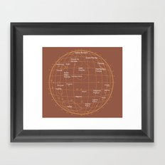 Mars 2 Framed Art Print