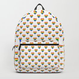LGBT Heart Backpack