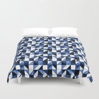 blues Duvet Covers featuring Blues by Jozi