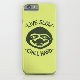 THE SLOW LIFE iPhone Case