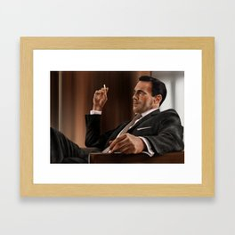 Don Draper (Mad Men) Framed Art Print