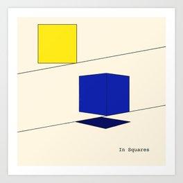 In Squares Art Print