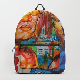 Malcolm X King Backpack