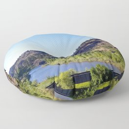 Missouri  River Floor Pillow