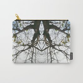 Mirrored Trees 4 Carry-All Pouch