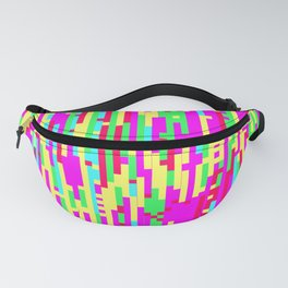 Girl Glitch - Digital Glitch Art Fanny Pack