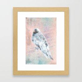 A Forest Visitor Framed Art Print
