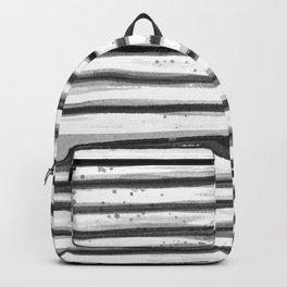 Zebra Swirl Stripe Backpack