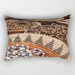 Santa Fe Beads Rectangular Pillow
