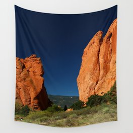 Garden Of Gods View Wall Tapestry