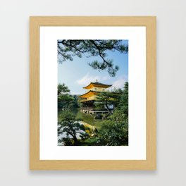 Kyoto Golden Temple Framed Art Print