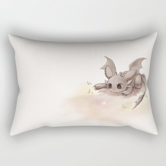 Toothless Rectangular Pillow