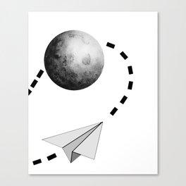 Paper Flight Canvas Print